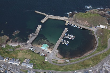 Portknockie Harbour Moray Council
