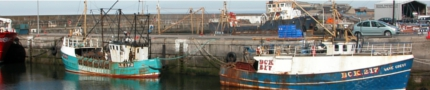 Buckie Harbour 2 Boats