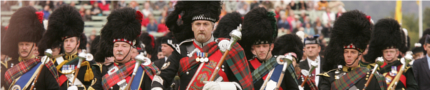 Events Pipe band