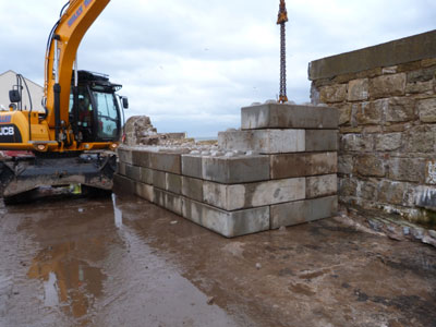 Lossiemouth Harbour Wall