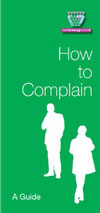 How to complain leaflet
